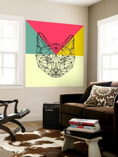 Party Cat-Lisa Kroll-Wall Mural