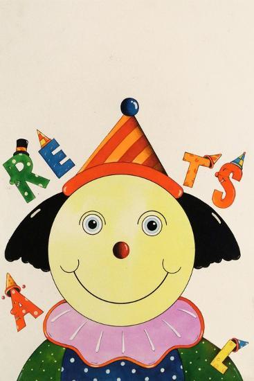 Party Clown-Christian Kaempf-Giclee Print