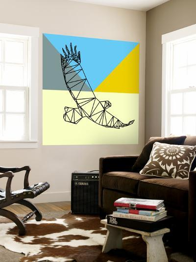 Party Eagle Polygon-Lisa Kroll-Wall Mural