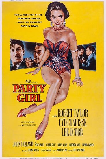 Party Girl, from Left: Robert Taylor, Lee J. Cobb, Cyd Charisse, Robert Taylor, John Ireland, 1958--Art Print