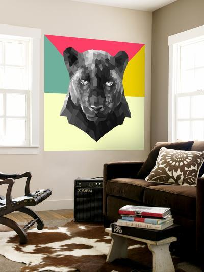 Party Panther-Lisa Kroll-Wall Mural