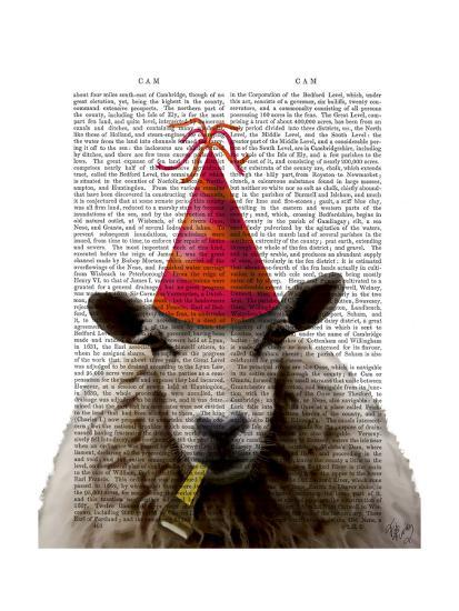 Party Sheep-Fab Funky-Art Print