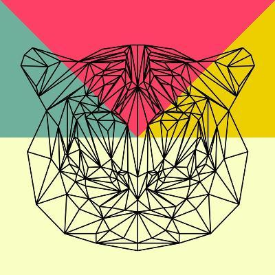 Party Tiger-Lisa Kroll-Art Print