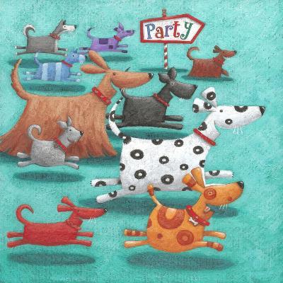 Party-Peter Adderley-Art Print