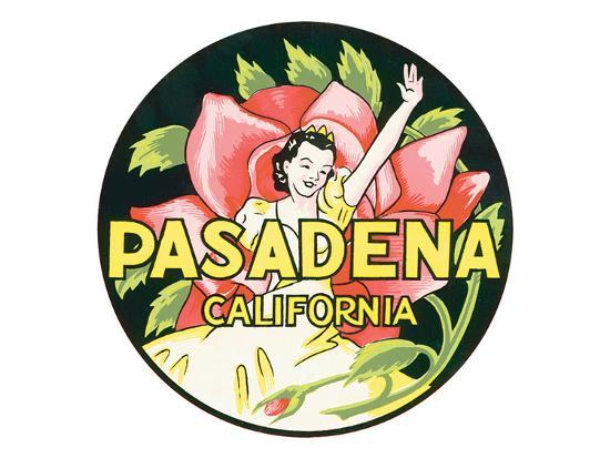 Pasadena, California--Art Print
