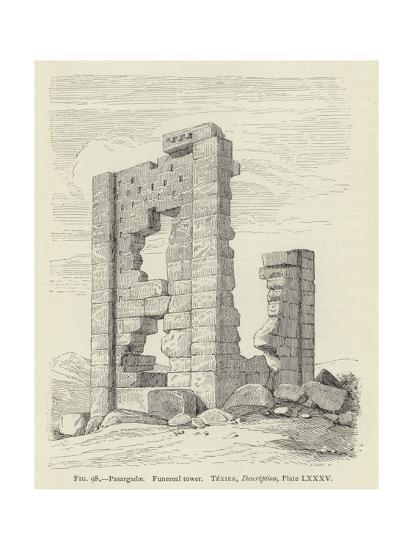 Pasargadae, Funereal Tower--Giclee Print