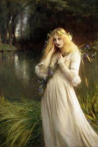 Ophelia, 1909 by Pascal Adolphe Jean Dagnan-Bouveret