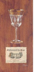 Verre Chateauneuf-Du-Pape by Pascal Cessou
