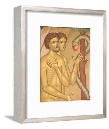 Adam and Eve Fresco at Monastery of Saint-Antoine-le-Grand