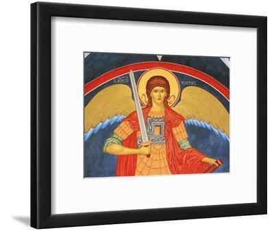 Saint Michael Fresco at Monastery of Saint-Antoine-le-Grand