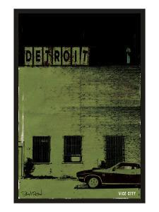 Vice City-Detroit by Pascal Normand