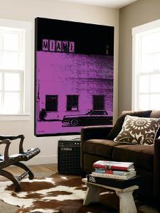 Vice City (Miami , purple) by Pascal Normand