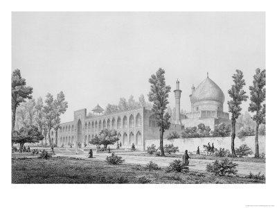 Madrasa-Yi Masjid-I Shah Sultan Hussein, in Isfahan
