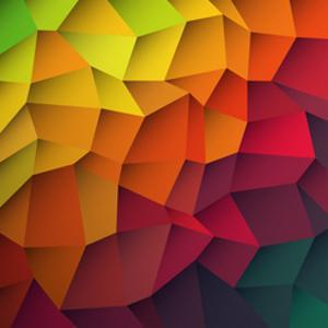 Abstract Colorful Patches Background by pashabo