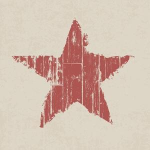 Grunge Red Star by pashabo