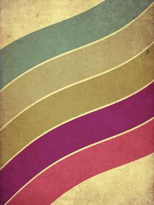 Retro Style Music Grunge Background with Color Lines by pashabo