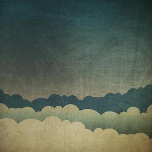 Vintage Grunge Sky Background by pashabo