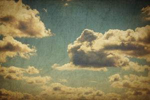 Vintage Sky With Clouds by pashabo