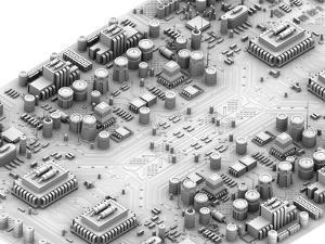Circuit Board, Artwork by PASIEKA