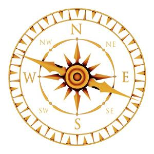Compass Rose by PASIEKA
