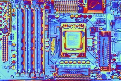 Computer Motherboard with Core I7 CPU