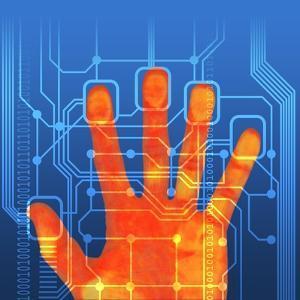 Fingerprint Scanner, Artwork by PASIEKA