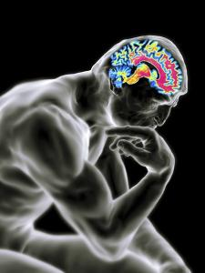 Man Thinking, Artwork by PASIEKA