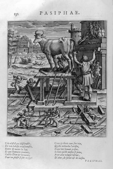 Pasiphae, 1615-Leonard Gaultier-Giclee Print