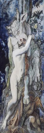 Pasiphaé-Gustave Moreau-Giclee Print