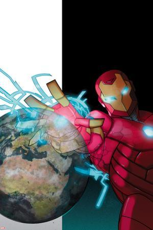 International Iron Man No. 2 Cover Art by Pasqual Ferry