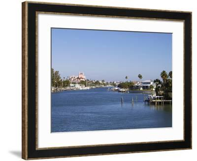 Pass a Grille, St. Petersburg Beach, Gulf Coast, Florida, United States of America, North America-Jeremy Lightfoot-Framed Photographic Print