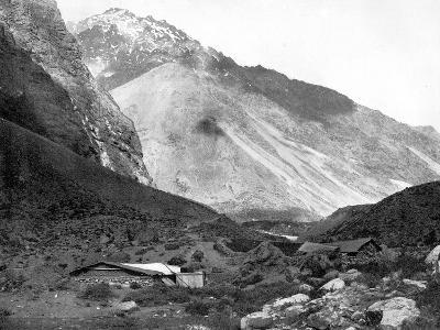 Pass of Uspallata, Andes Mountains, South America, 1893-John L Stoddard-Giclee Print