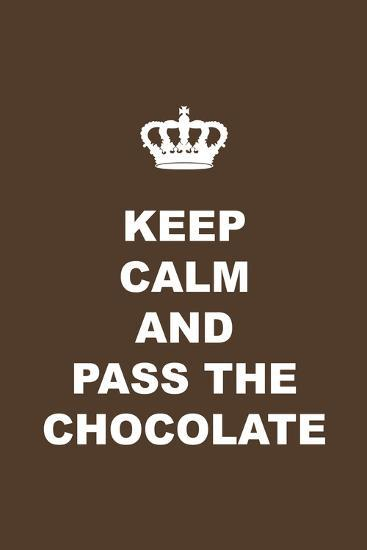 Pass the Chocolate-Tina Lavoie-Giclee Print