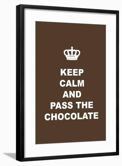 Pass the Chocolate-Tina Lavoie-Framed Giclee Print