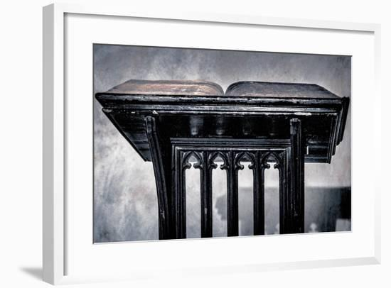 Passage From The Book Of Kings, From The Series St. Mary's Cathedral, 2017-Joy Lions-Framed Giclee Print