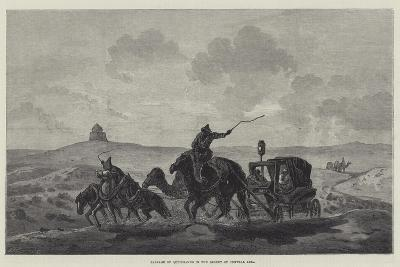 Passage of Quicksands in the Desert of Central Asia--Giclee Print