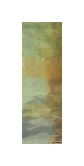 Passages Tryptic Left-Michael Tienhaara-Giclee Print