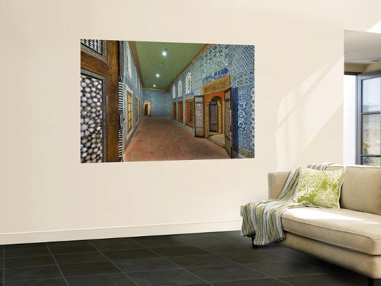 Passageway in Hunkar Kasri-Izzet Keribar-Wall Mural