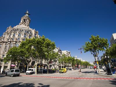 Passeig De Gracia, Barcelona, Catalonia, Spain, Europe-Sergio Pitamitz-Photographic Print