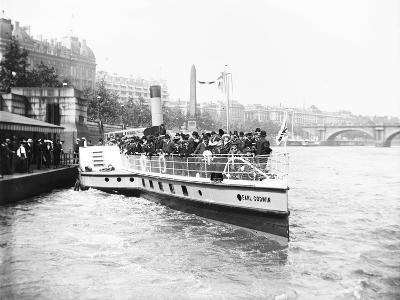Passengers Boarding the Steamer 'Earl Godwin, London, C1905--Photographic Print