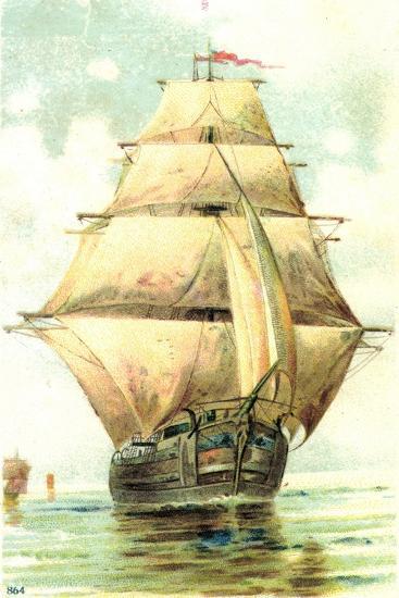 Passepartout Künstler Voiliers Naviguent--Giclee Print