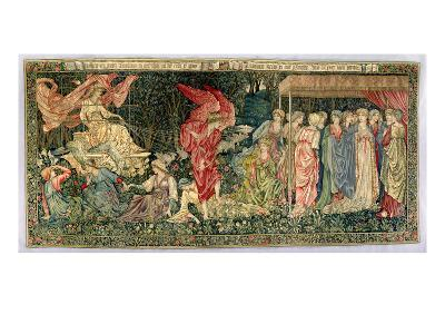 Passing of Venus, Designed in 1901 and Woven in 1926 (Wool, Silk and Linen Tapestry)-Edward Burne-Jones-Giclee Print
