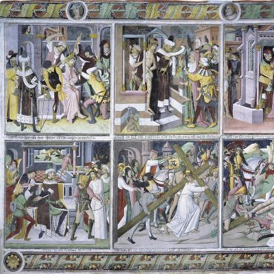 Passion of Christ, 1492-Giovanni Canavesio-Giclee Print