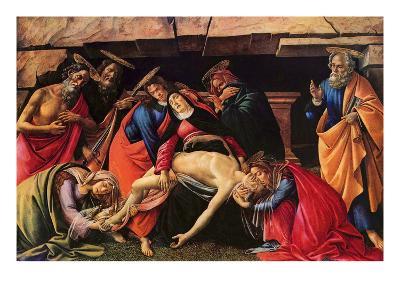 Passion of Christ-Sandro Botticelli-Art Print