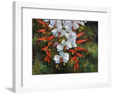 Passionate Cascade-Robert Lyn Nelson-Framed Giclee Print
