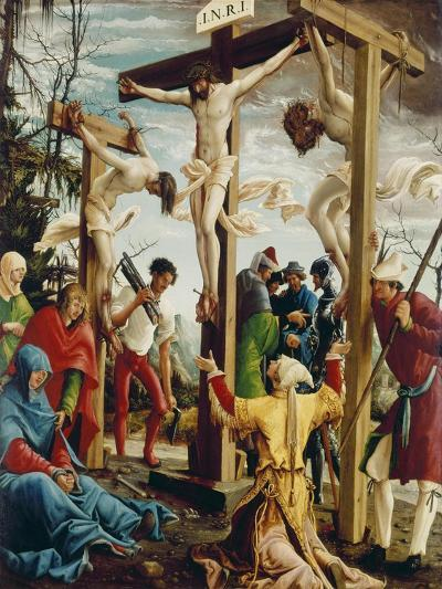 Passions/Sebastians-Altar in St.Florian the Crucifixion of Christ-Albrecht Altdorfer-Giclee Print