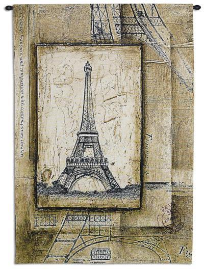 Passport to Eiffel--Wall Tapestry