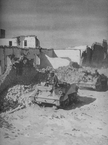'Past Graziani's Shattered Stronghold Lies the Conquerors' Road', 1941-Unknown-Photographic Print