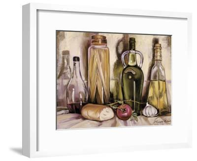 Pasta and Olive Oil-Theresa Kasun-Framed Art Print