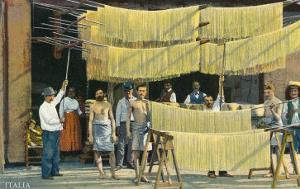 Pasta Drying, Italy